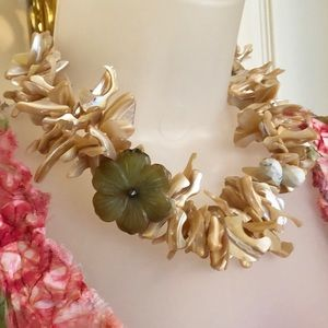 Handmade Jewelry - 🇺🇸Abalone Necklace Golden Abalone & Agate